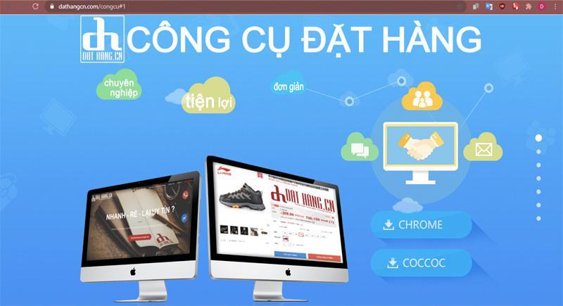 Tải công cụ hỗ trợ đặt hàng bằng tiếng Việt